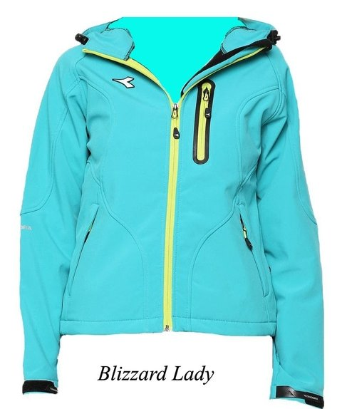 Campera Soft Shell Diadora Blizzard Lady