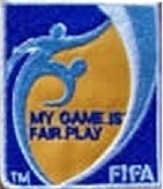 Escudo Bordado Referee Fair Play - comprar online