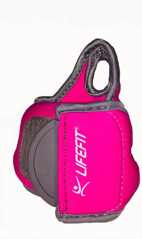 Muñequera Lifefit 1.5 Kg X 2 Fitness Gym