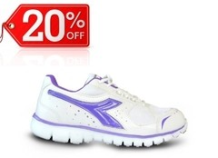 Zapatilla Diadora Ultra Blanco Lila - OUTLET -