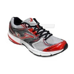 Zapatillas Running Joma Speed II - Gris Rojo
