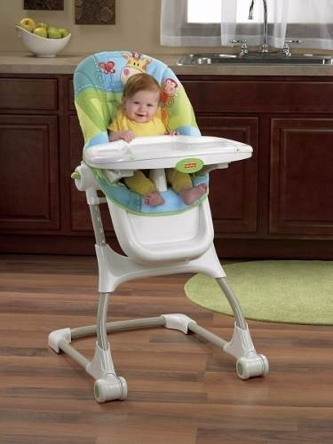 Silla de comer fisher price discovern grow for Silla fisher price para comer
