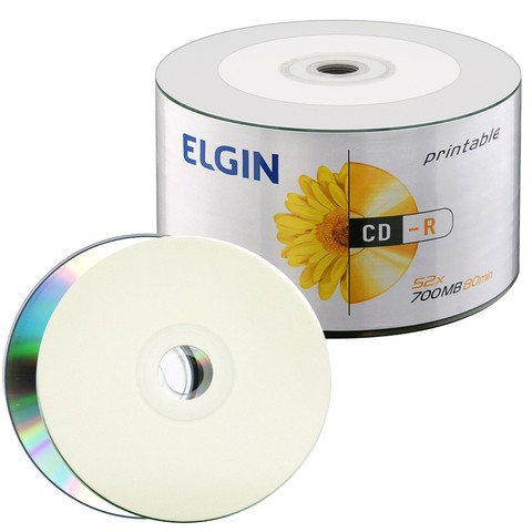 CD-R Printable Multilaser Tubo C/50 700MB
