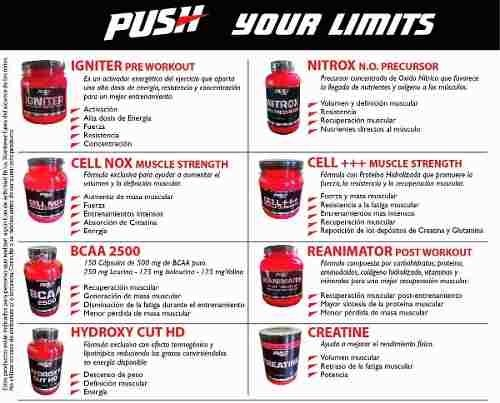 Creatine Push Energy X 900gr - Mundo Gym