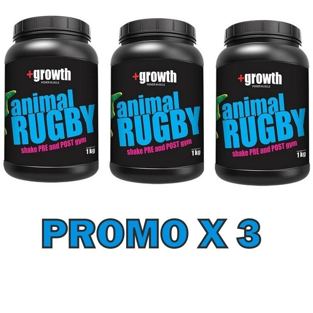 Animal Rugby 1 Kg +growth - Promo X 3