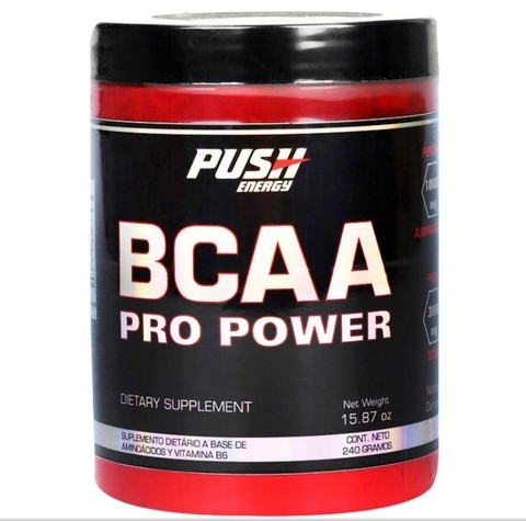 Bcaa Pro Power Push Energy X240gr