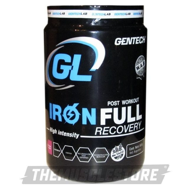 IRON FULL RECOVERY X5OO GR - comprar online