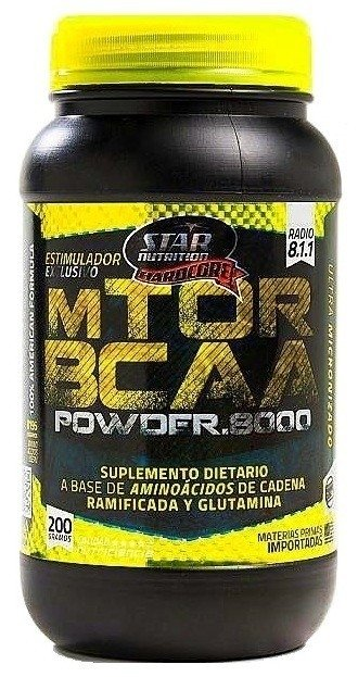 Mtor Bcaa Powder 8000 X 200grs Star Nutrition