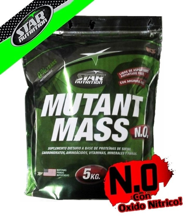 Mutant Mass X 5kg Star Nutrition