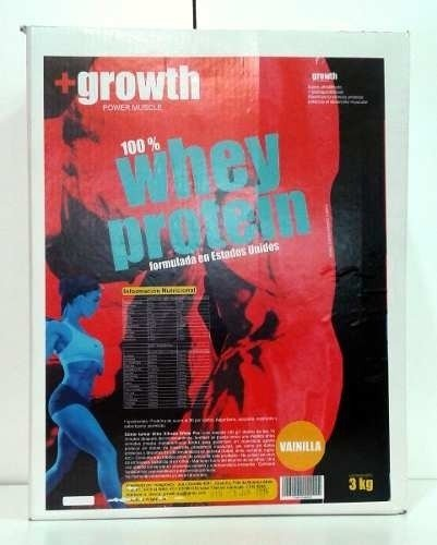 Whey Protein +growth 3kg