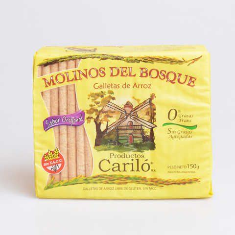 GALLETAS DE ARROZ X 150 G CARILO