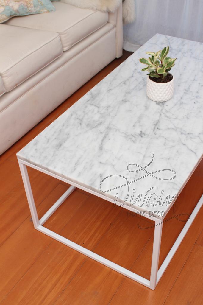 Mesa de marmol carrara comprar en divain for Marmol de carrara limpieza