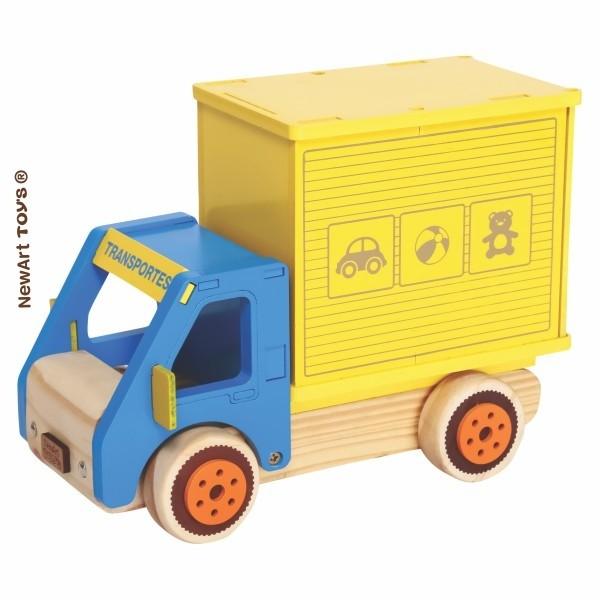 Coleção Carrinhos - Caminhão Baú