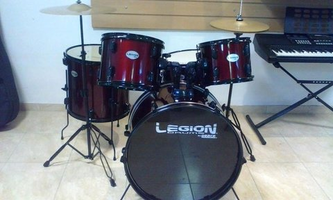 Bateria LEGION By PEACE - Completa