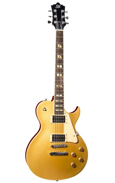 Guitarra Electrica Sx les paul GOLD TOP