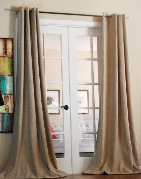 cortinas lino pesadas