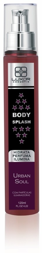Body Splash 120ml - 3x1 Perfuma/Hidrata/Ilumina - Urban Soul