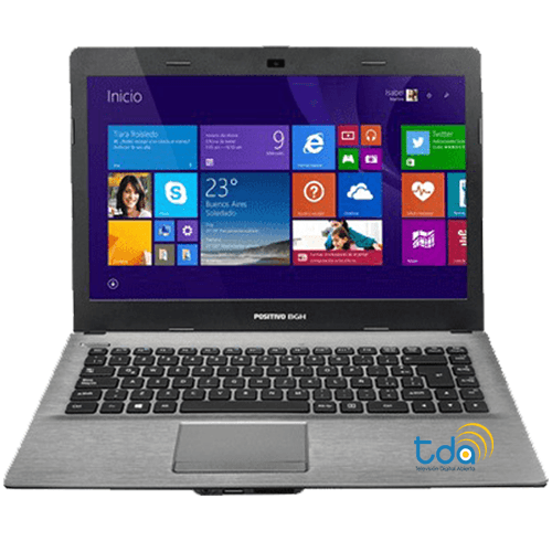 Notebook Bgh Positivo Z120 Tv Tda Led 14 Intel 4gb 500gb
