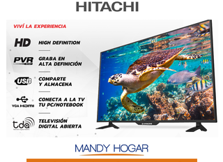 Led Tv 32 Digital Hitachi HD Mandy Hogar