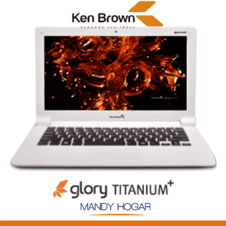 Notebook Ken Brown Glory Titatium 14¨ Intel 32gb 4gb Ram Win10 en internet