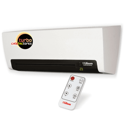 Caloventor Split Liliana CONFORTEMPO CWD900 Termostato Display Control remoto Timer 2000 watts
