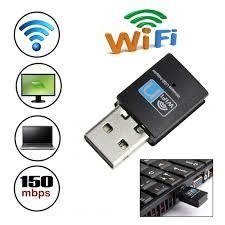 Adaptador receptor wifi nano 150 Mbps Wireless 802.11g USB 2.0 Dongle