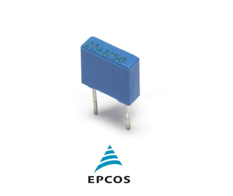 Capacitor Epcos Poliester 5MM