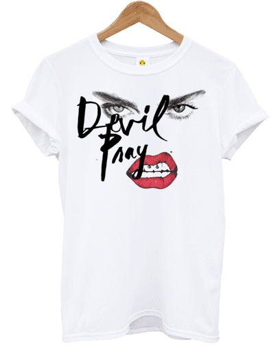 Camiseta Devil Pray