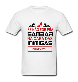 Camiseta Divertida Sambar 1