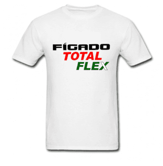 Camiseta Divertida Figado Flex