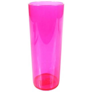 COPO LONG DRINK COR ROSA