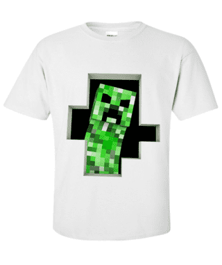 Camiseta Creeper caverna
