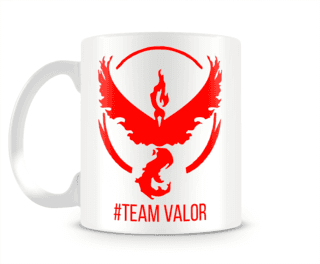 POKÉMON GO TEAM VALOR