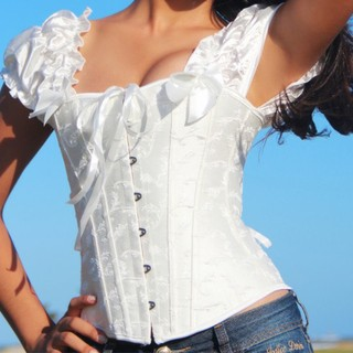 Corselet Branco do Mangas