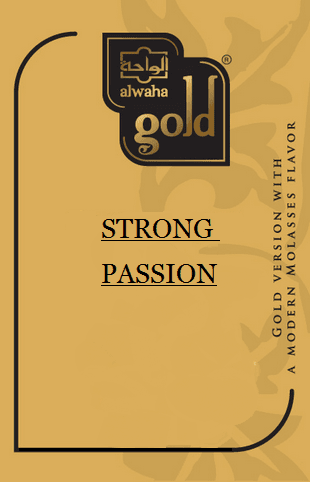 Alwaha Gold Premium STRONG PASSION - 50G - comprar online