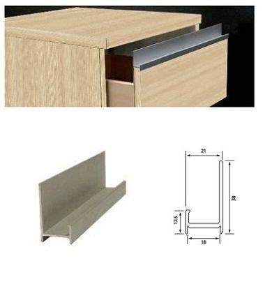 Perfil j comprar en maderas tabay s r l - Perfiles de aluminio para muebles ...