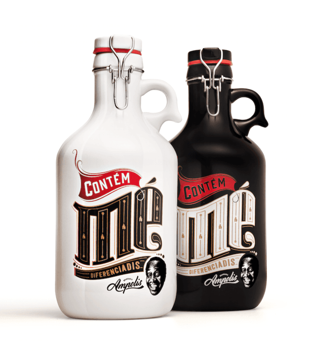 Kit com 2 Growlers Ampolis