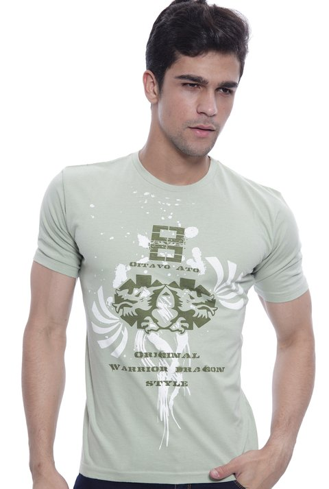Camiseta Oitavo Ato Eight Verde Ervas na internet