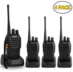Walkie Talkies Greaval 4 Pack de Longo Alcance 16 canais