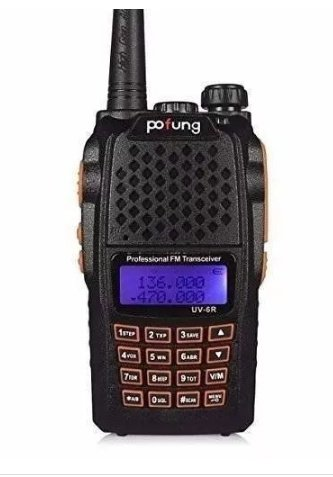 Radio Ht Walk Talk Baofeng Uv-6r Dual Band Uhf Vhf 7w