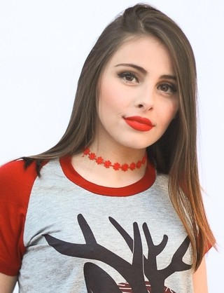 Choker Frida mini rouge