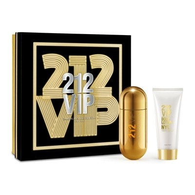 Carolina Herrera - Coffret 212 VIP EDP 80ml + Body Lotion 100ml - Feminino