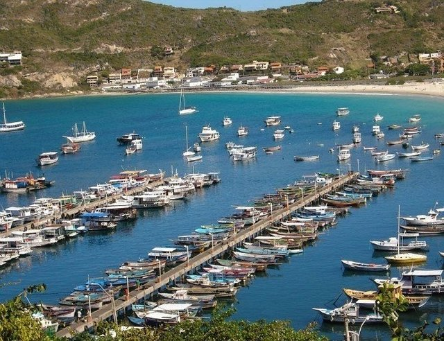 Arraial do Cabo na internet
