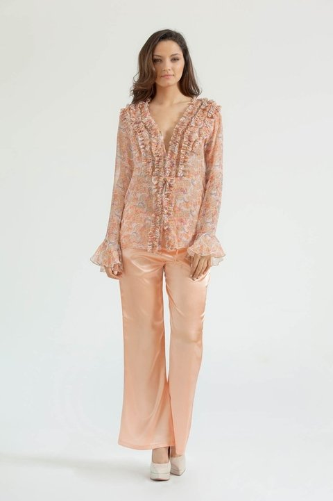 Pijama Largo Cocktail 1960 - comprar online