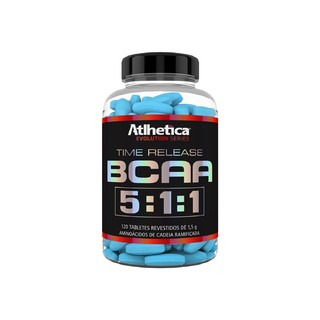 BCAA Time Release 2:1:1 200 Caps - Atlhetica Nutrition