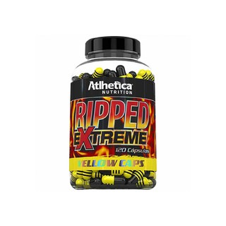 Ripped Extreme Yellow 120 Caps - Atlhetica Nutrition