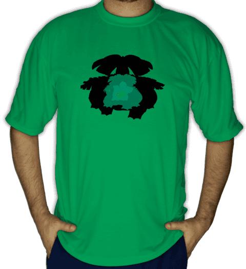 Camiseta Bulbasaur Evolution