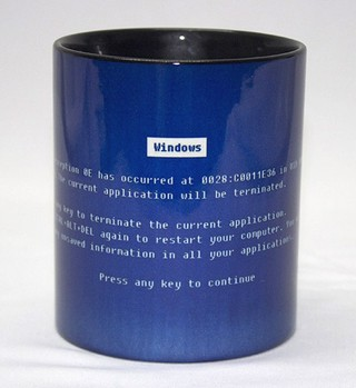 Caneca Erro do Windows