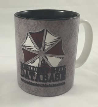 Caneca Oficial Resident Evil Database