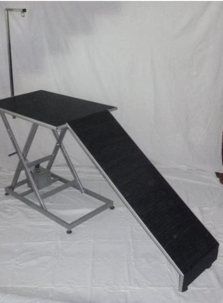 Rampa REX opcional para mesa de peluqueria canina, largo 1,20 x 40